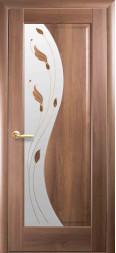Эскада (Маэстра) золотая ольха, со стеклом и цветным рисунком