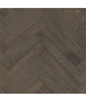 Паркетная доска ESTA PARKET Дуб BC Lava Grey ёлочка, экстра матовый лак