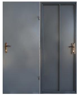 """Дверь """"ТЕХНИЧЕСКАЯ"""" 1 лист металла"""
