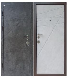 НАКЛАДКА DG-41 серия ТРОЯ  Мрамор темный/бетон