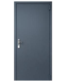 Дверь техническая  Графит