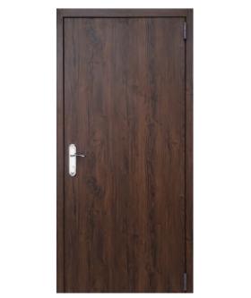 Дверь техническая   Дуб темный